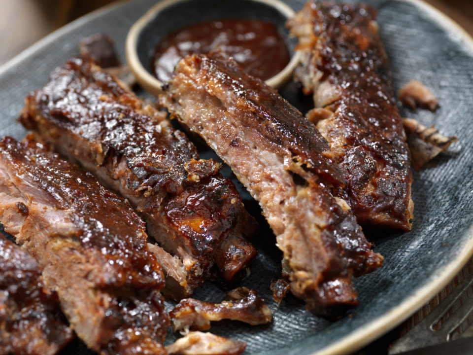 Slow Roasted St. Louis Style Baby Back Pork Ribs